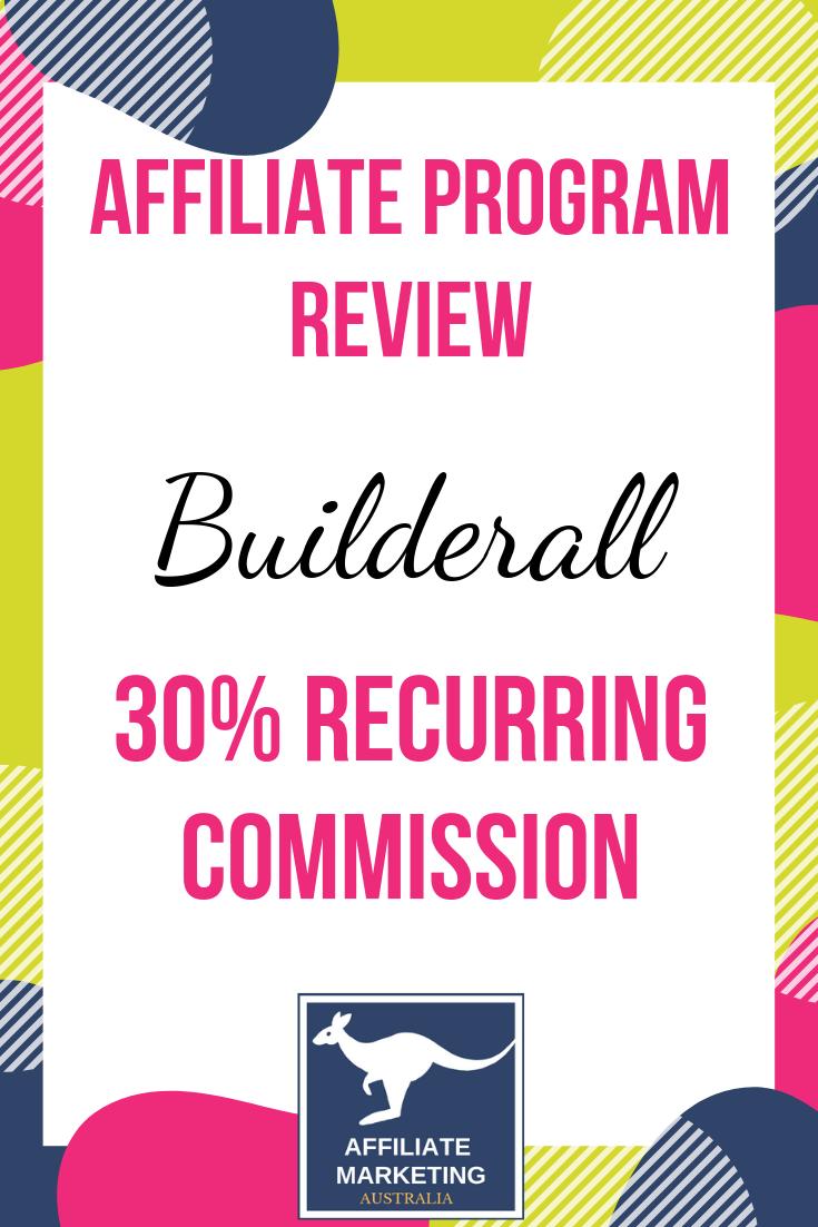 Builderall Affiliate Marketing Program Review AFFILIATE MARKETING AUSTRALIA