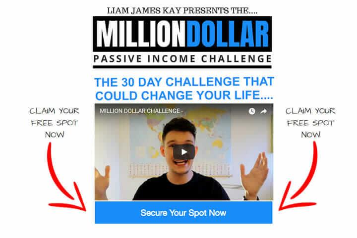 Liam James Kay Builderall Million Dollar Challenge