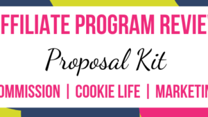 Proposal Kit Affiliate Marketing Program Review