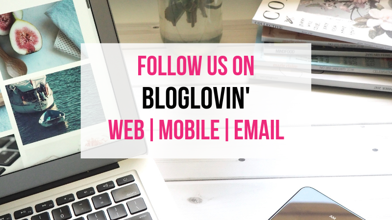 Follow us on Bloglovin