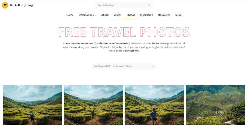 Bucketlistly Travel Photos