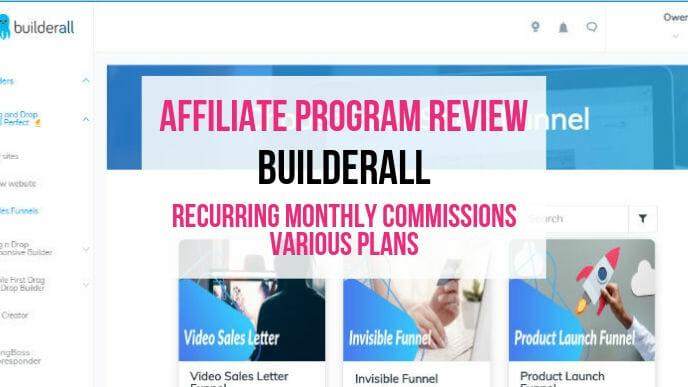 Builderall Affiliate Marketing Program Review