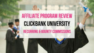 ClickBank University Affiliate Marketing Program