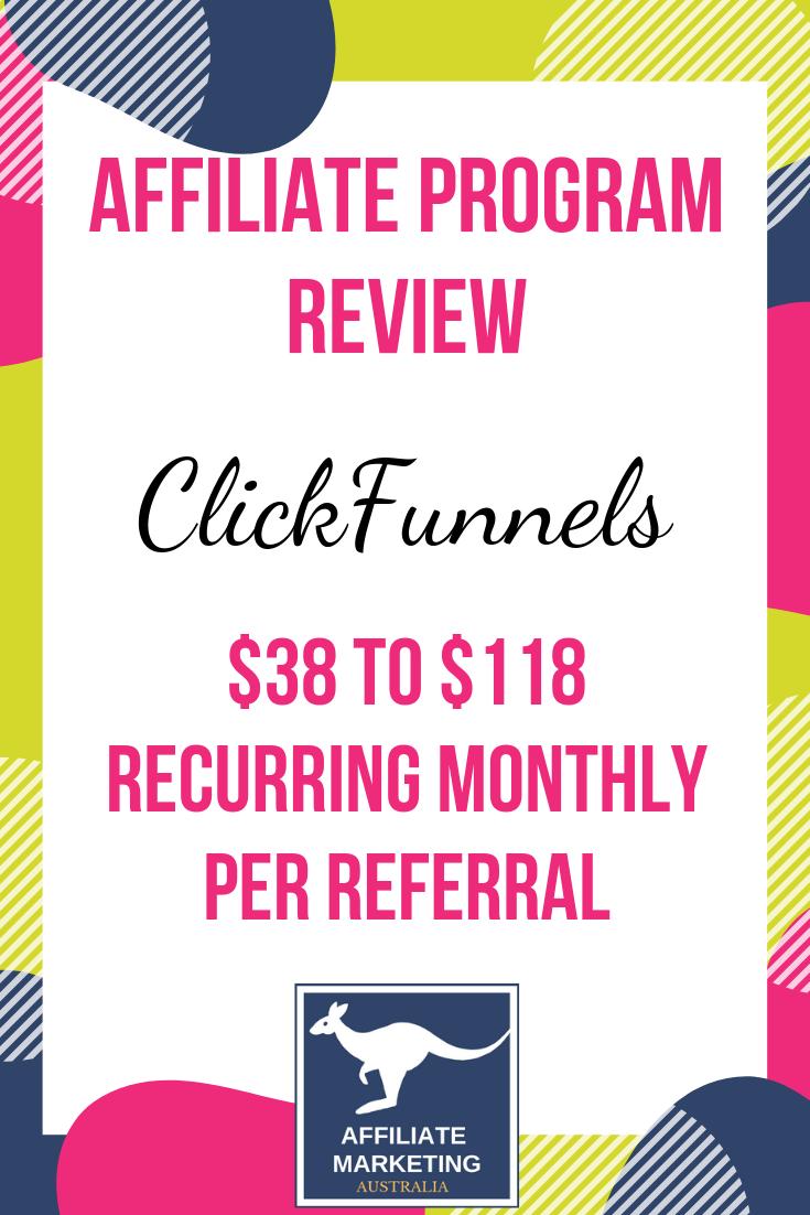 ClickFunnels Affiliate Marketing Program Review AFFILIATE MARKETING AUSTRALIA