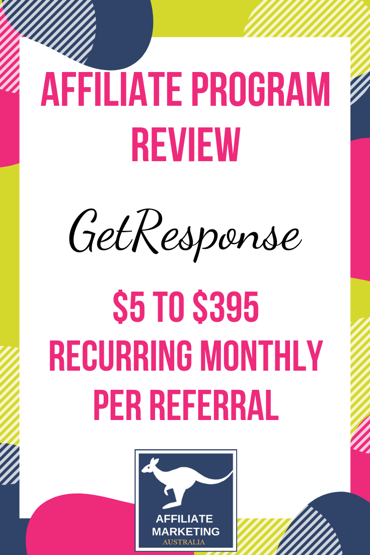 GetResponse Affiliate Marketing Program Review AFFILIATE MARKETING AUSTRALIA