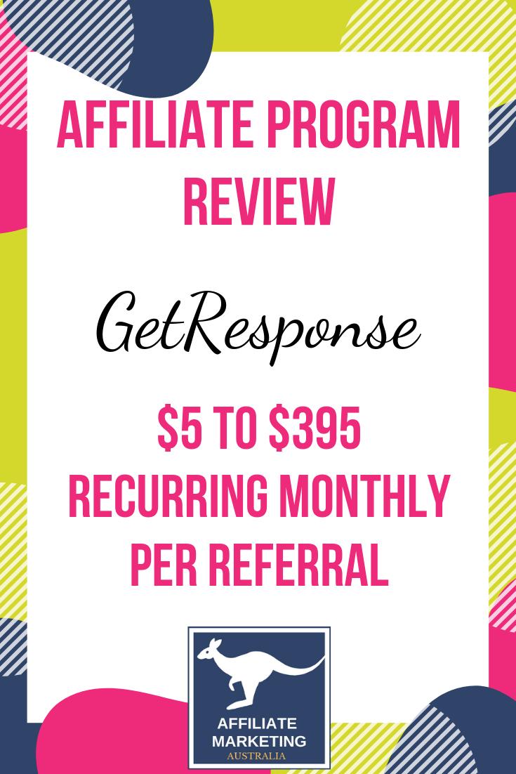 GetResponse Affiliate Marketing Program Review Affiliate Posts
