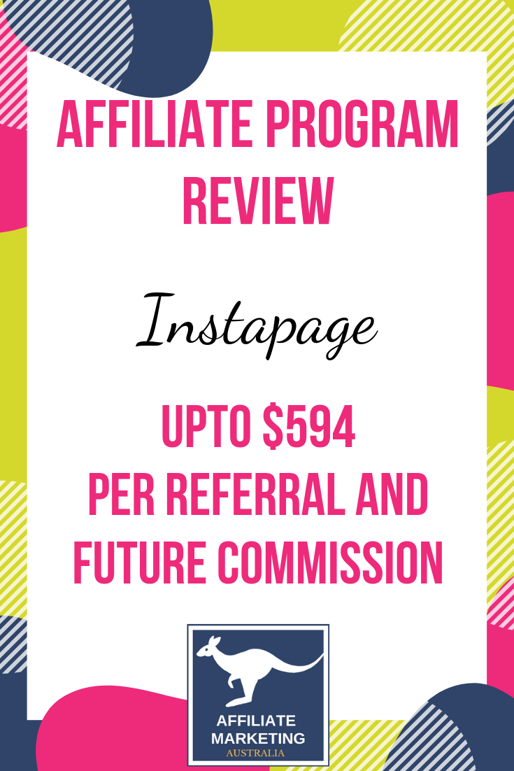 Instapage Affiliate Marketing Program Review AFFILIATE MARKETING AUSTRALIA