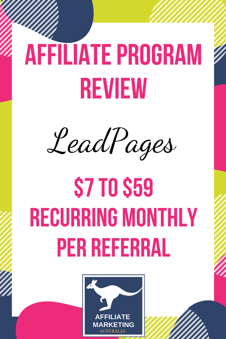 LeadPages Affiliate Marketing Program Review Affiliate Posts