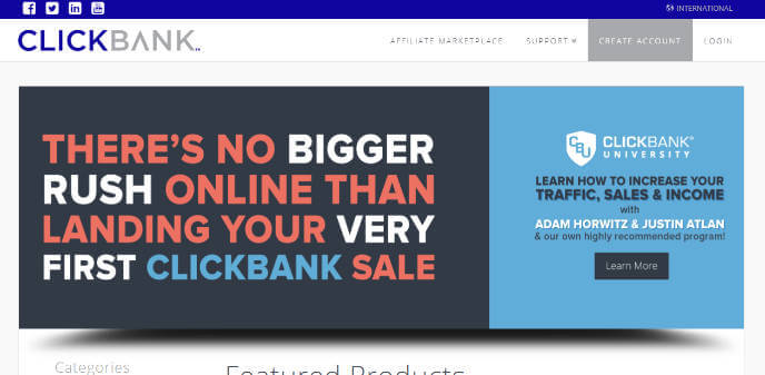 Clickbank Affiliate Network - The Affiliate Network Directory