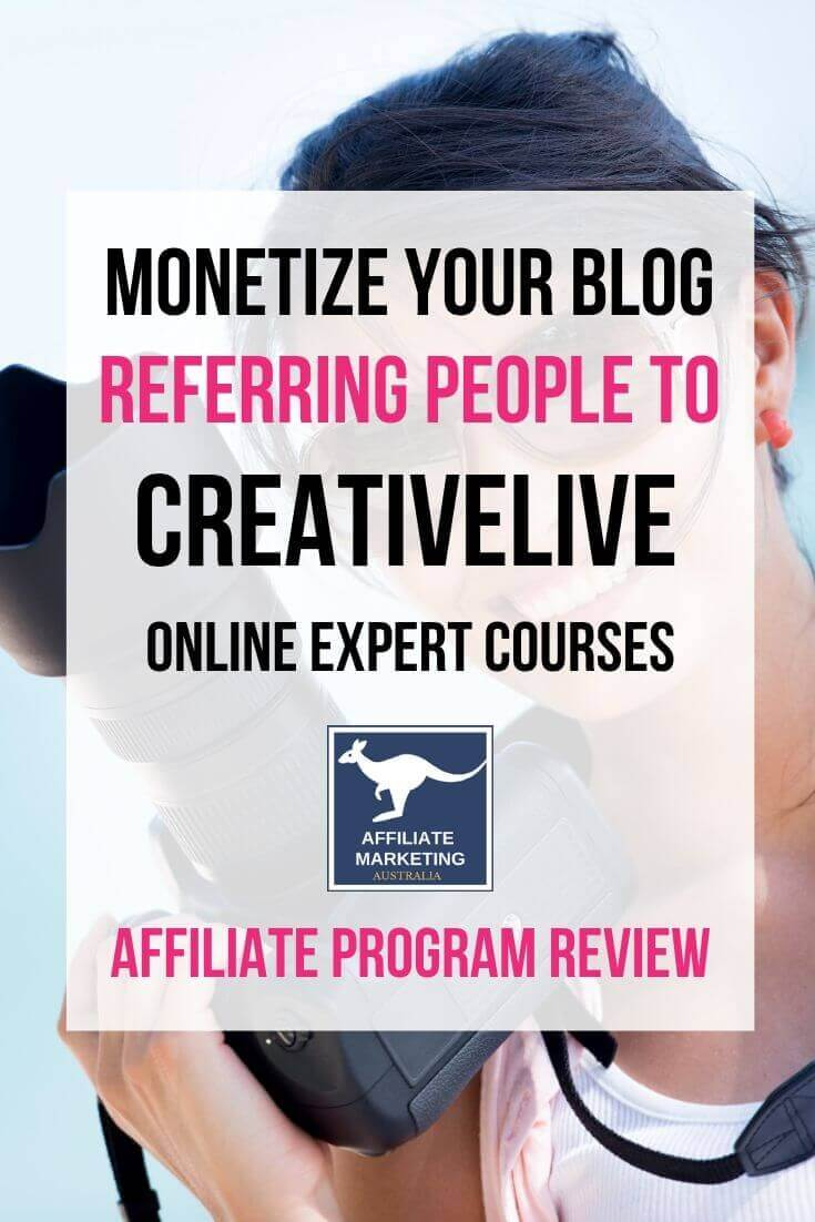 CreativeLive Affiliate Program Review AFFILIATE MARKETING AUSTRALIA