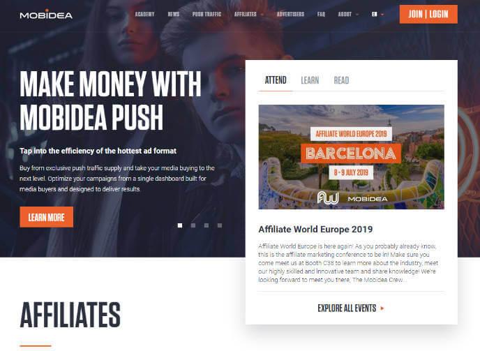 Mobidea Affiliate Network