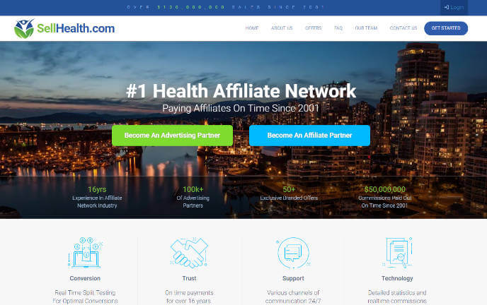 SellHealth Affiliate Network