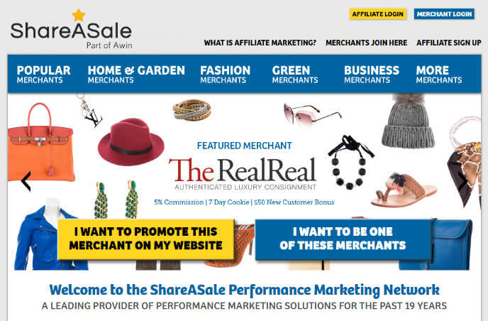ShareASale Affiliate Network - The Affiliate Network Directory