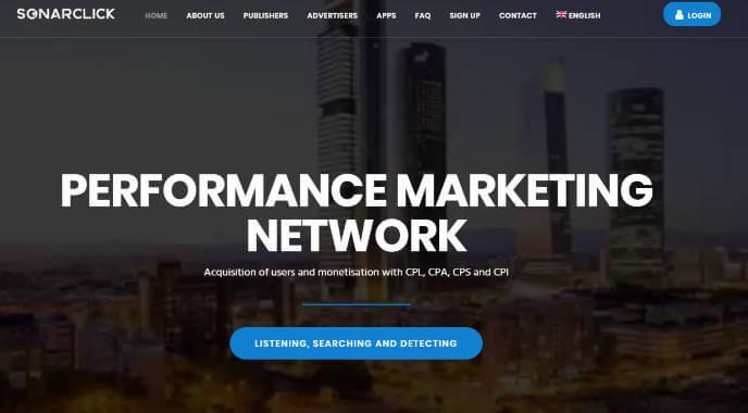 Sonarclick Affiliate Network
