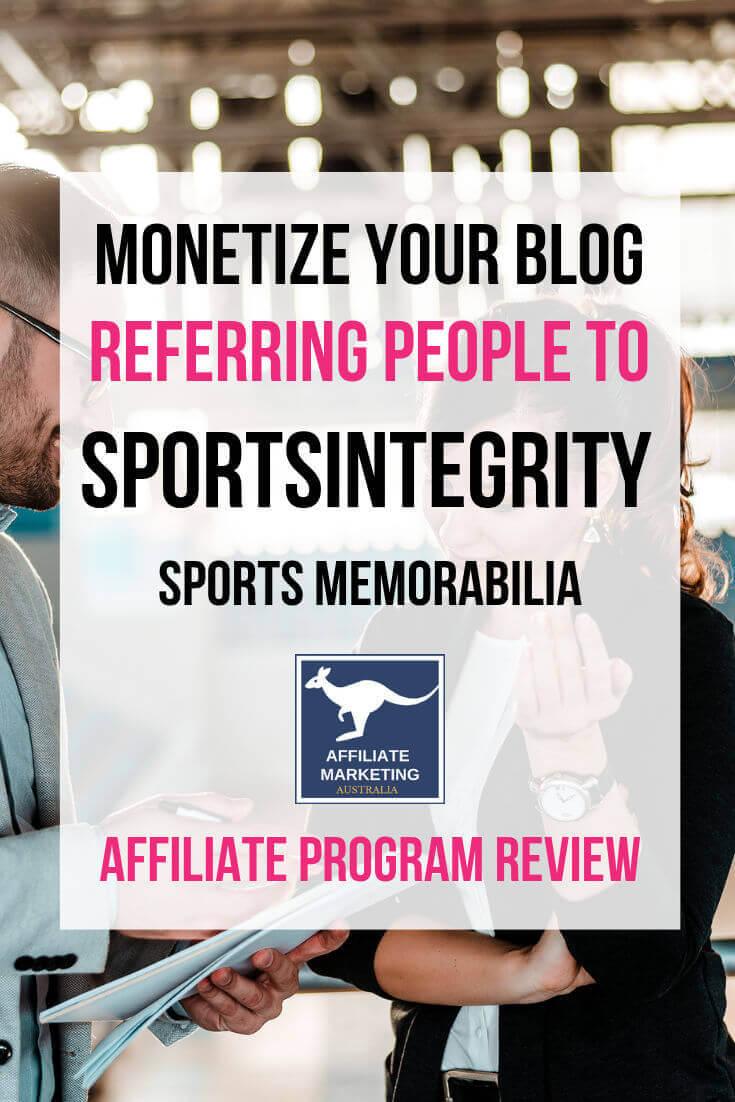 SportsIntegrity Affiliate Program Review AFFILIATE MARKETING AUSTRALIA