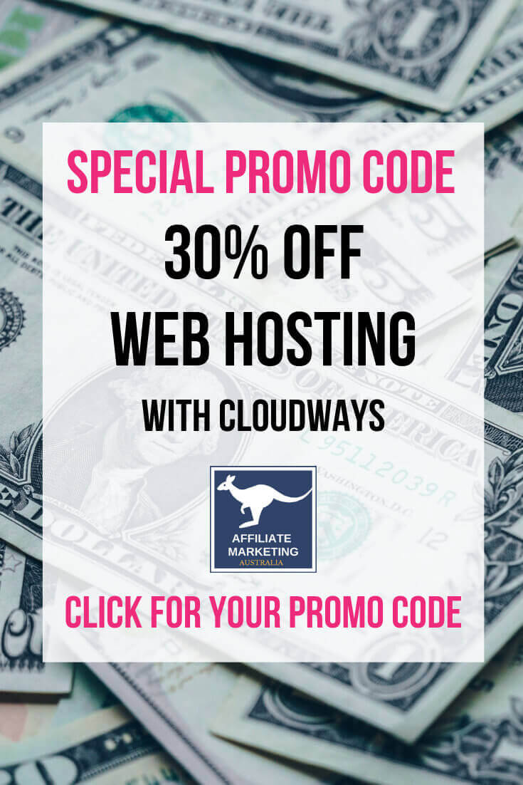 Cloudways Hosting Promo Coupon Code – 30% off Affiliate Posts