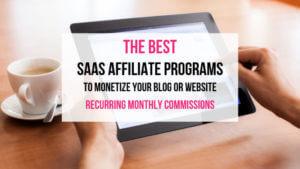 SAAS Affiliate Programs