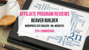 Beaver Builder Affiliate Marketing Program