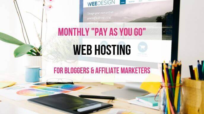 Pay As You Go Monthly Web Hosting