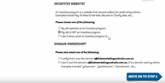 ShareASale Incentive