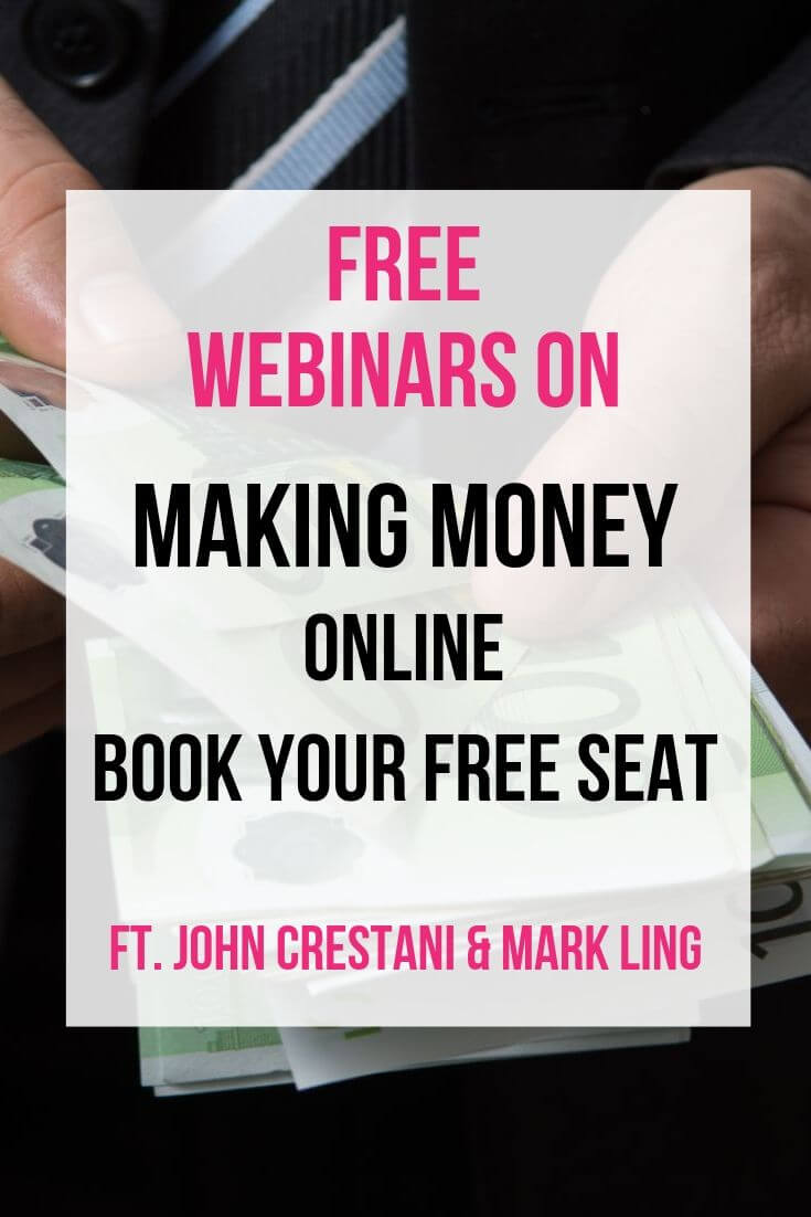 Make Money Webinars Affiliate Posts